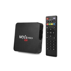 Androi TV box MXQ Pro 4K Ram 2G+16G Chipset xịn S905W Tích hợp FPT Play