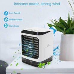 Quạt điều hòa mini để bàn Humidifier 880G phun sương và tạo hơi lạnh