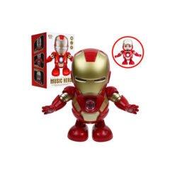 Đồ Chơi Robot Iron Man Nhảy Theo Nhạc