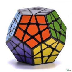Rubik Megaminx biến thể 12 Mặt Viền Đen Cao Cấp