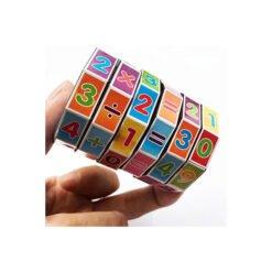 Đồ chơi trụ rubik toán học 6 tầng