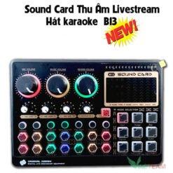 Sound card B13 VINETTEAM - Card âm thanh chất lượng, giá cực tốt