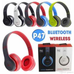 Tai Nghe Bluetooth P47 Chụp Tai có khe cắm thẻ nhớ