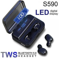 Tai Nghe Bluetooth 5.0 Kiêm Sạc Dự Phòng 2.200mAh TWS Wireless - S590