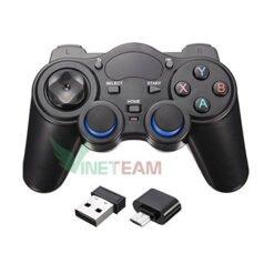 Tay Cầm Chơi Game Không Dây Cho PC / Xbox360 / Android TV / Smartphone/ Laptop 850M - cổng OTG Type-C