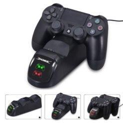 Dock sạc tay cầm DualShock 4 hãng Dobe cho PS4/Slim/Pro