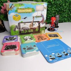 Bộ Thẻ Từ Vựng Con Vật Thực Tế Ảo (Flash Card AR VR Miaotu World)