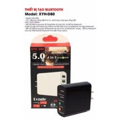 Thiết bị thu phát Bluetooth đa năng 4 trong 1 XYH D80