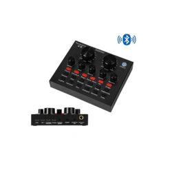 Sound Card thu âm V8 Bản tiếng Anh có Bluetooth